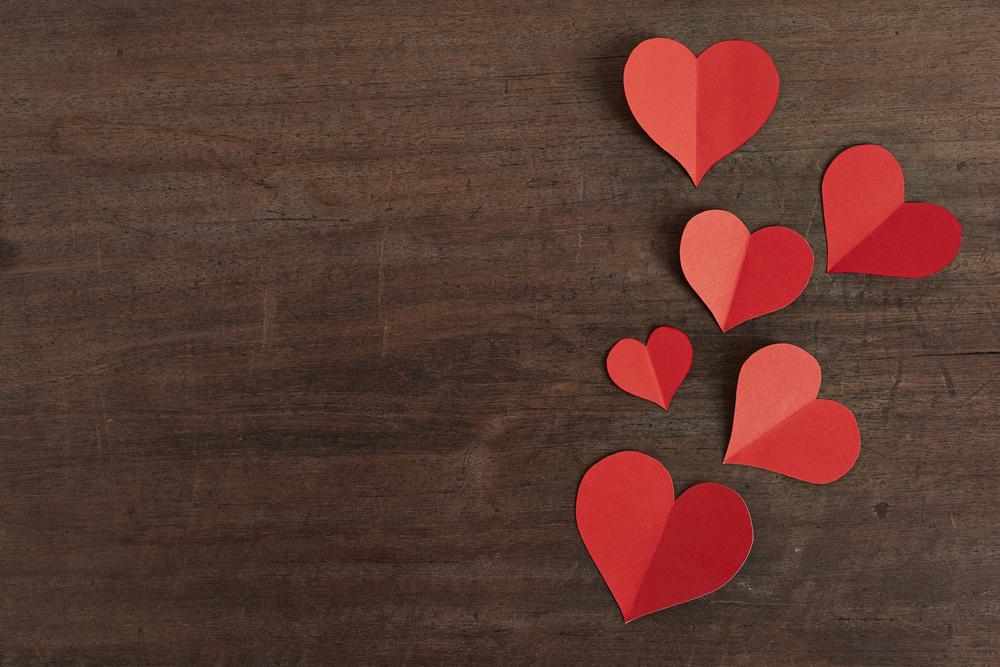 hearts--paper